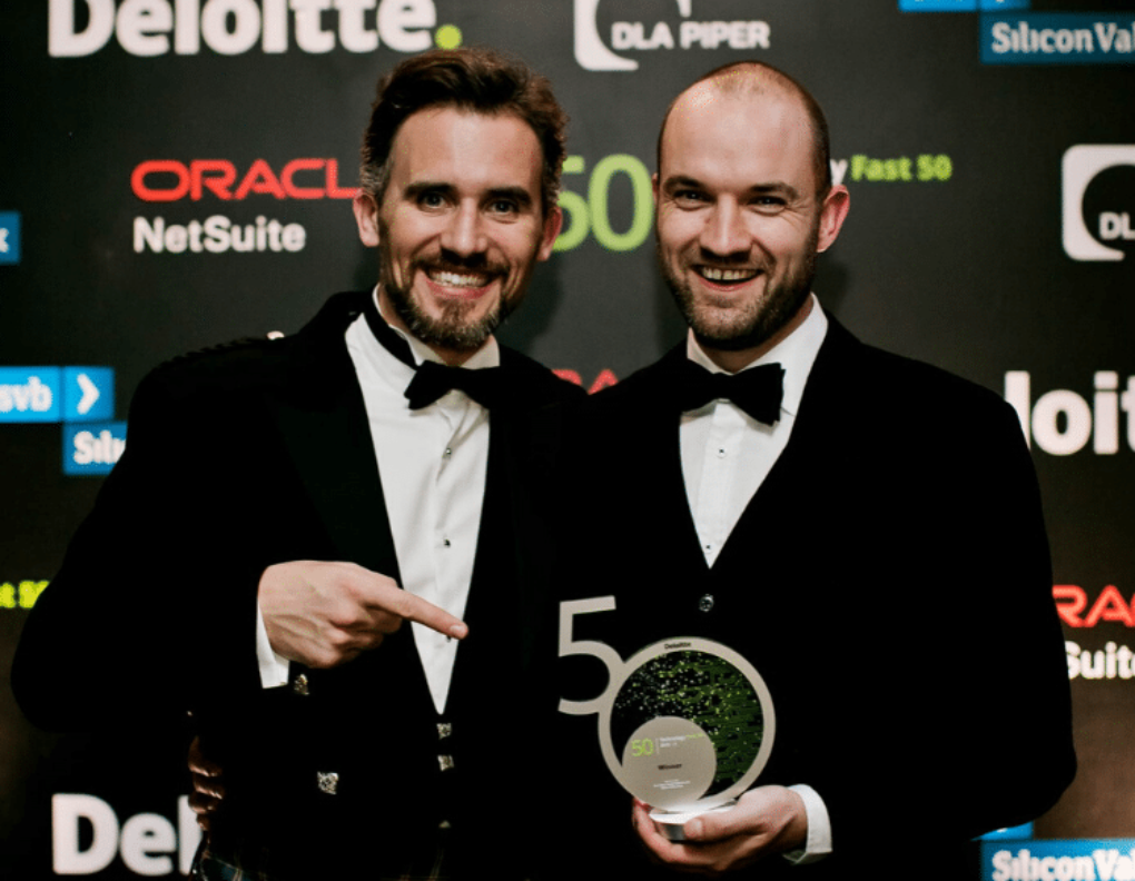 Andrew and Richard Winning Award