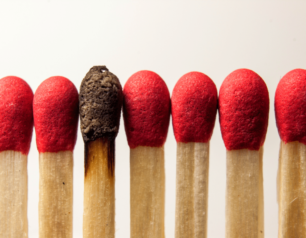 burnt-match- burnout